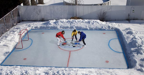 Buy Backyard Outdoor Ice Rink Liners Tarps | Ice Rinks Online