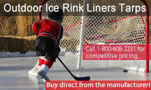 Ice Rink | Outdoor Ice Rink Liners Tarps